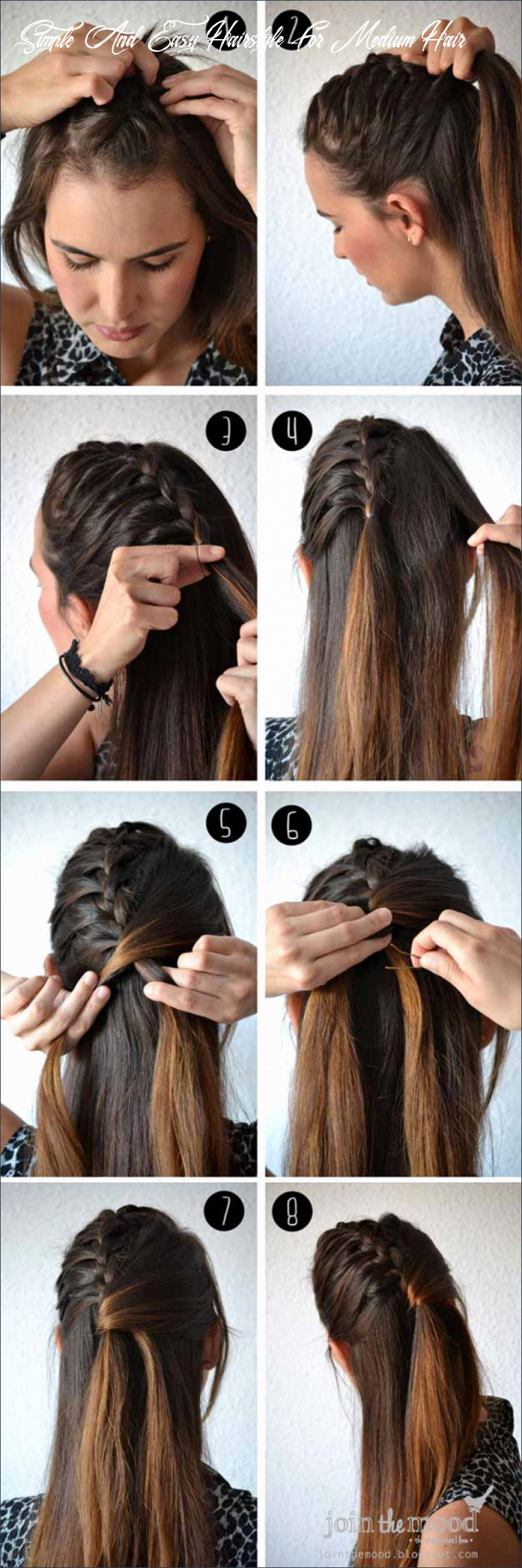 Cute and Simple Hairstyles for School New Best Job Interview ...