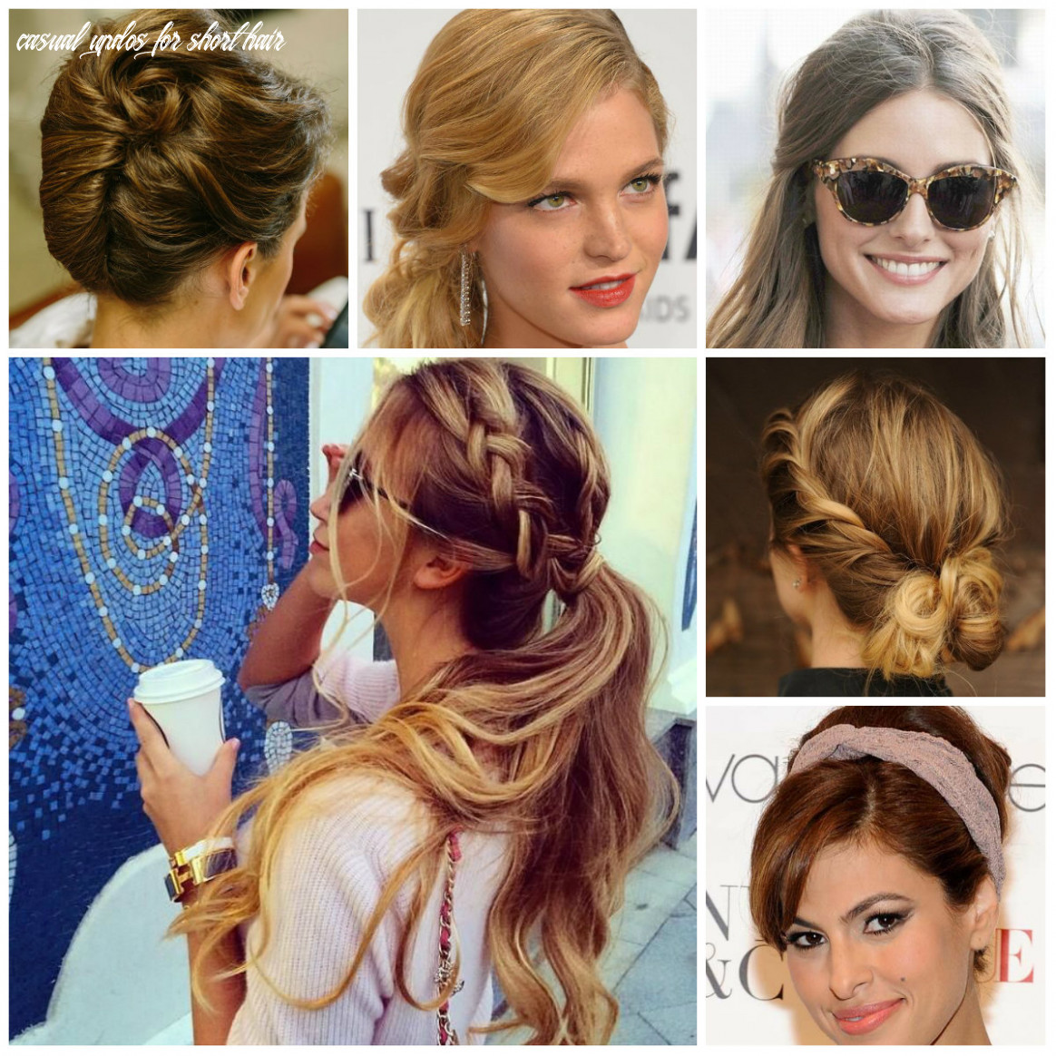 Easy to Do and Casual Updo Hairstyles for 11   11 Haircuts ...