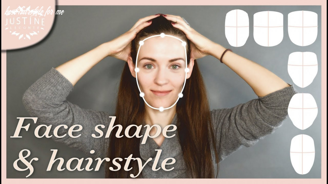 Good hairstyles for your face shape & how to determine your shape   Justine  Leconte
