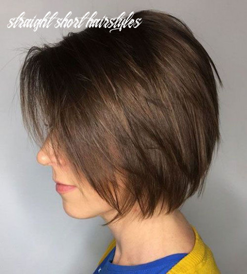 Latest 9 Short Hairstyles for Thin Straight Hair - Short Haircuts
