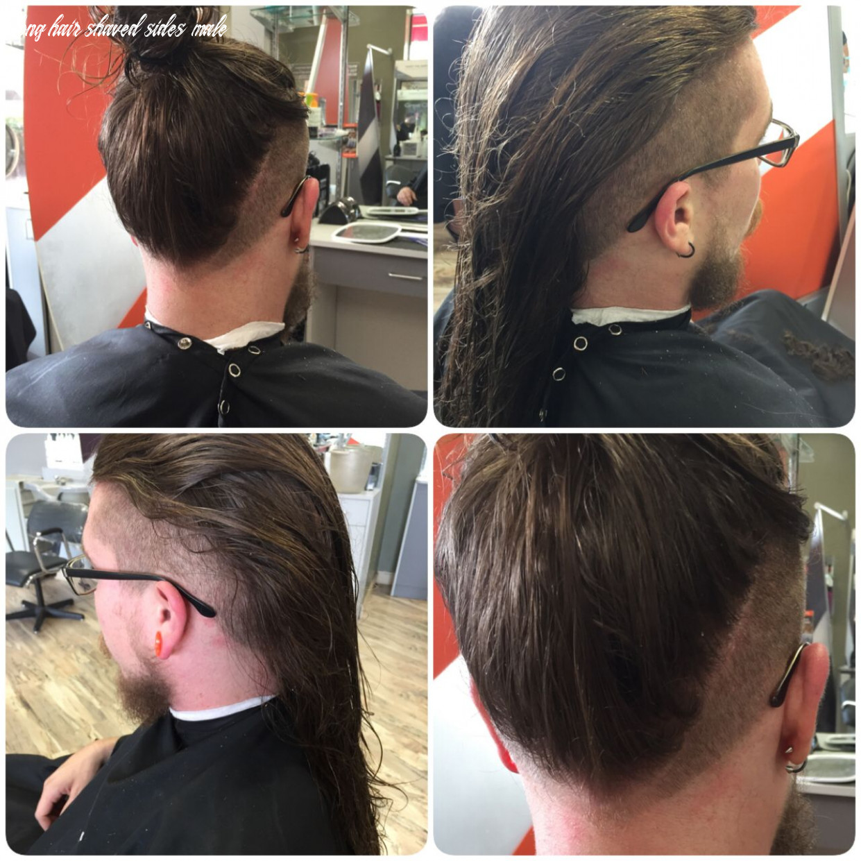 Men long hair layered with shaved sides (With images)   Long hair ...