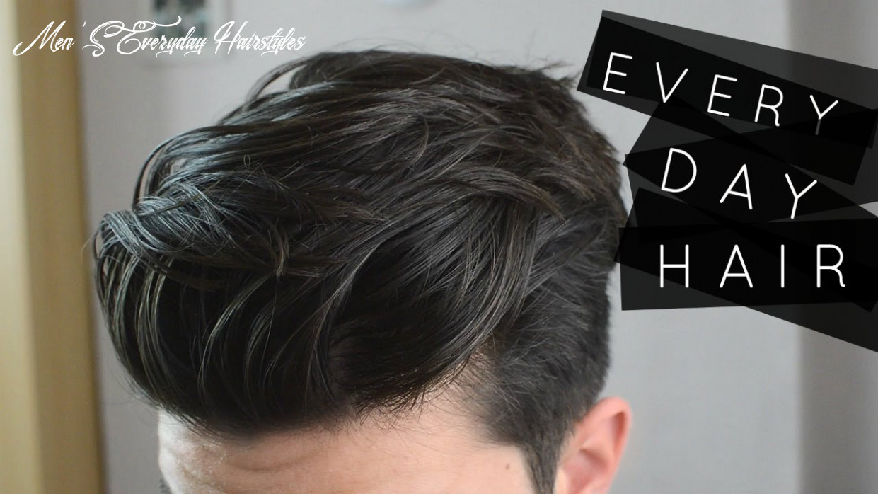 MEN'S HAIR | MY EVERYDAY HAIRSTYLE ROUTINE | DISCONNECTED UNDERCUT