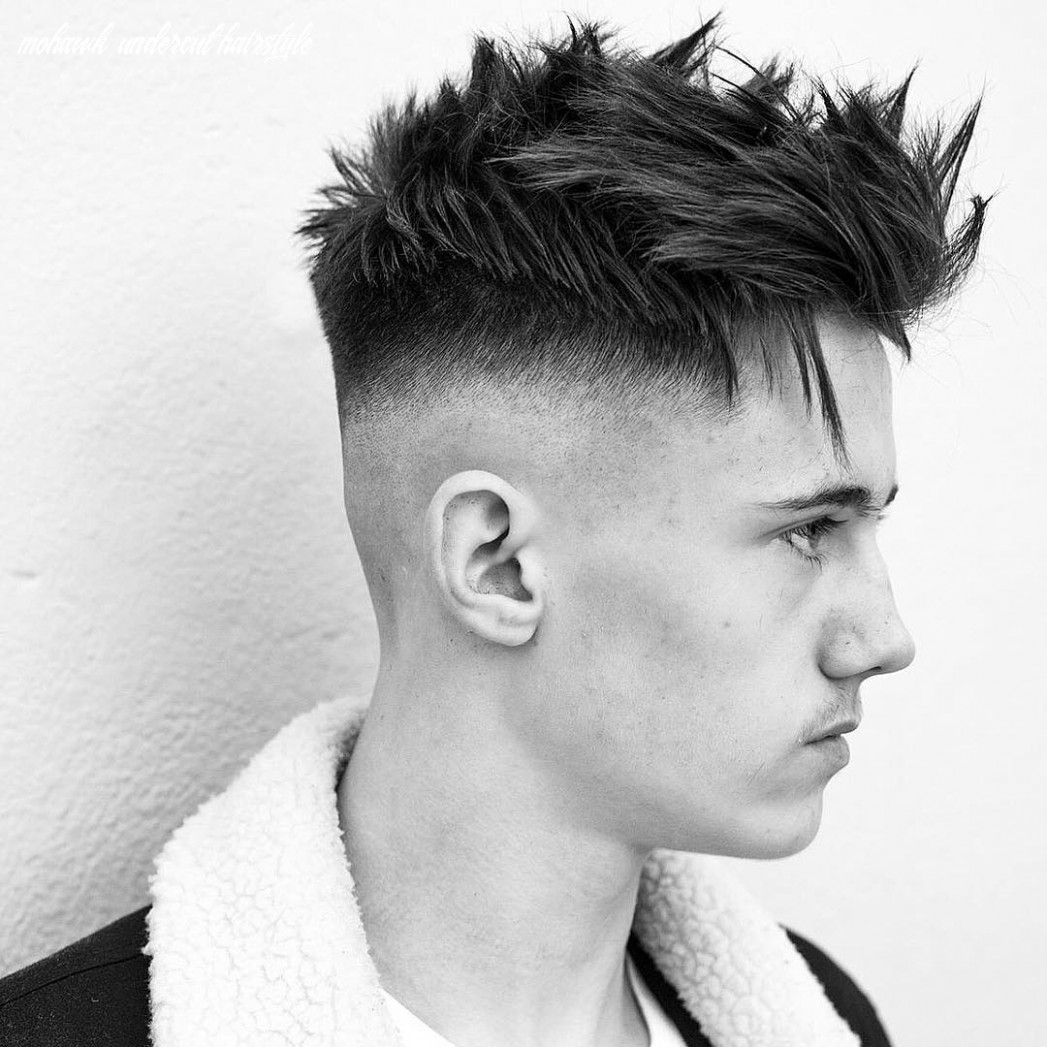 Mohawk with an undercut - Mens Hairstyle 9