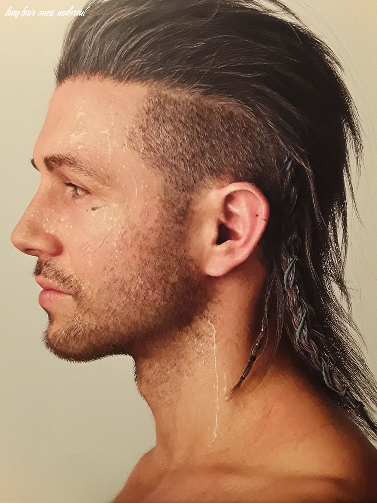 pretty close to the right hairstyle. Right side should be either ...