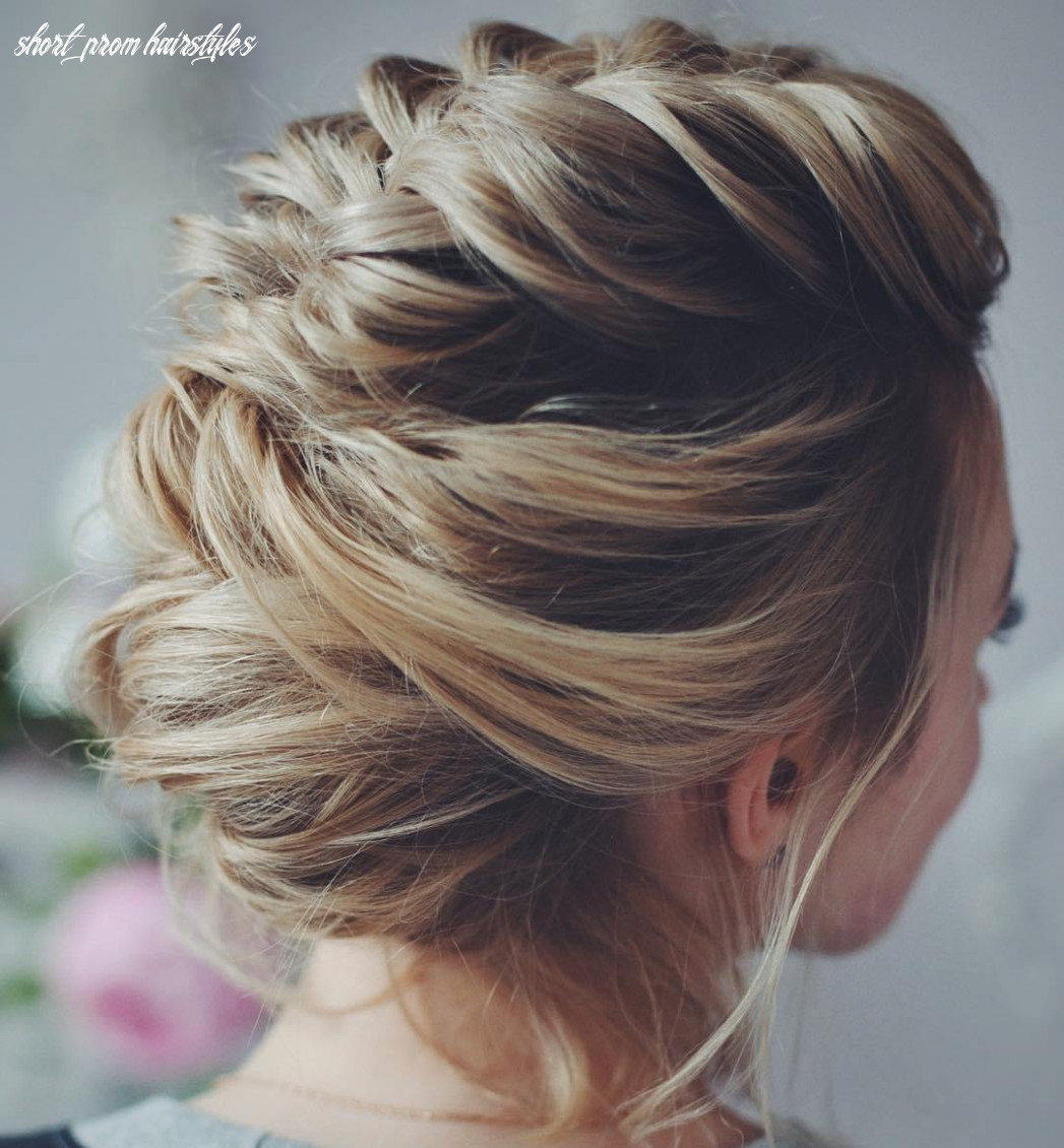 Prom Hairstyles Updos Short Hair