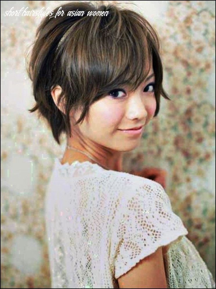Short Haircut for asian Women   Short hair styles for round faces ...