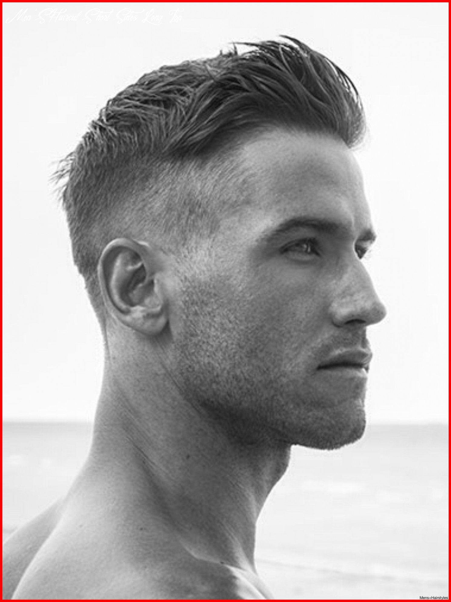 Top Male Hairstyles 10 Mens Haircuts Short Sides Long top ...