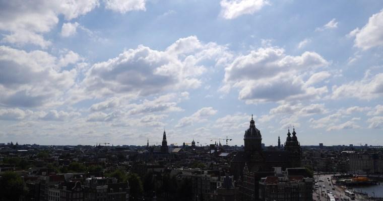無論白天還是黑夜都是看阿姆斯特丹景觀最佳地點- Sky Lounge