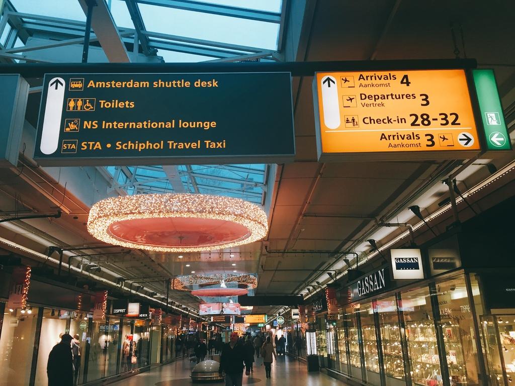 看這篇準沒錯,來荷蘭Schiphol機場購物去