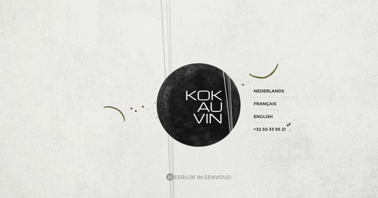 [布魯日] 米其林推薦餐廳 Kok Au Vin:好吃、氣氛好且價位合理