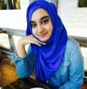 a young woman (Zaib Javaid)