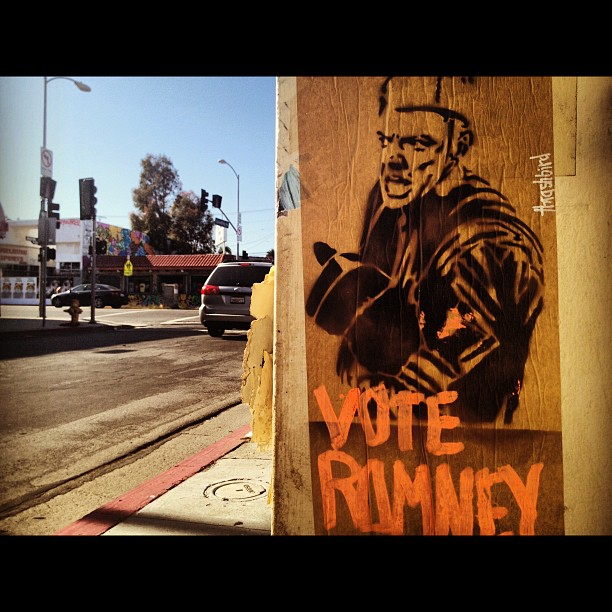 Oh and vote Romney... Ewe