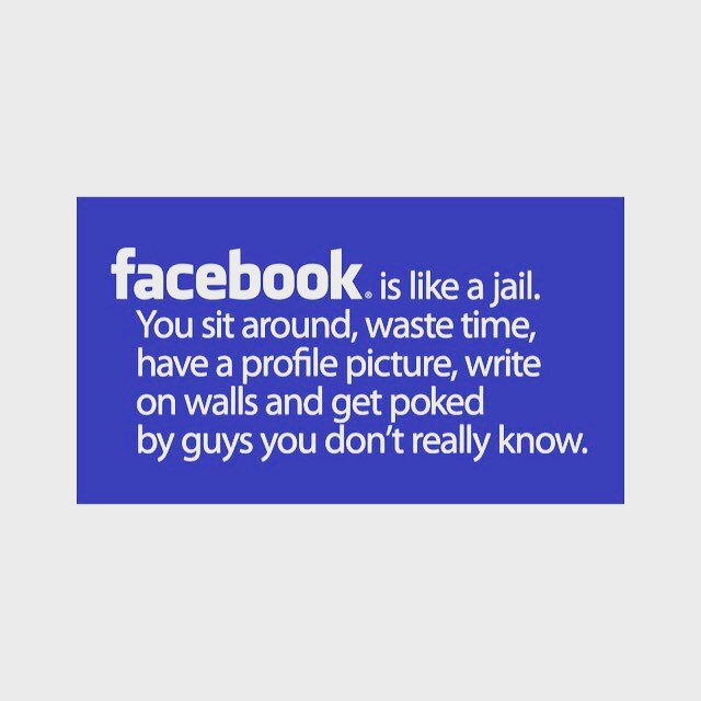 Thumbs up? if you e been locked up in Facebook jail