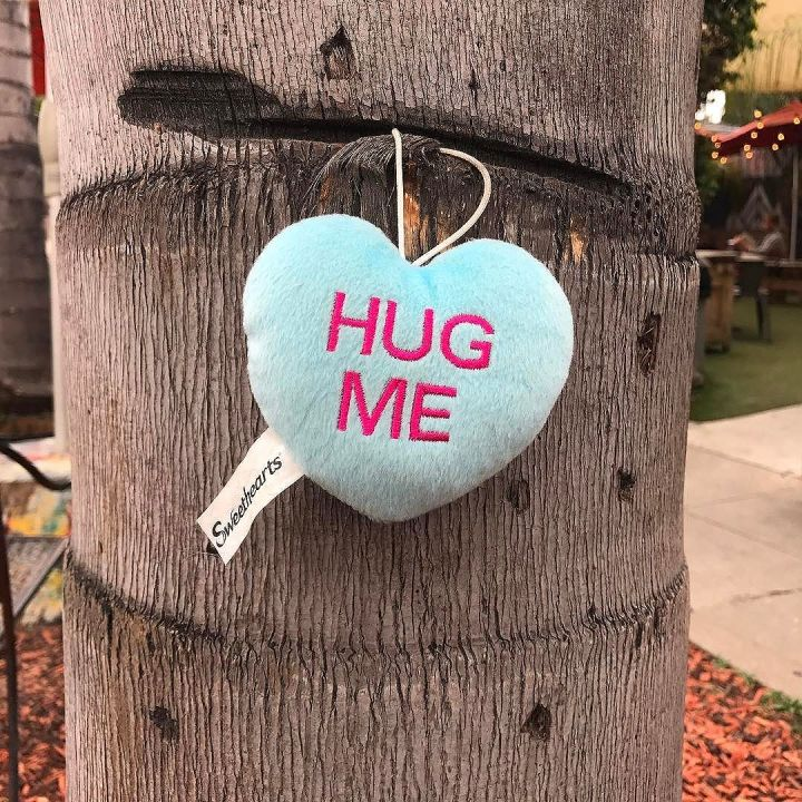 Hug me (sort of)