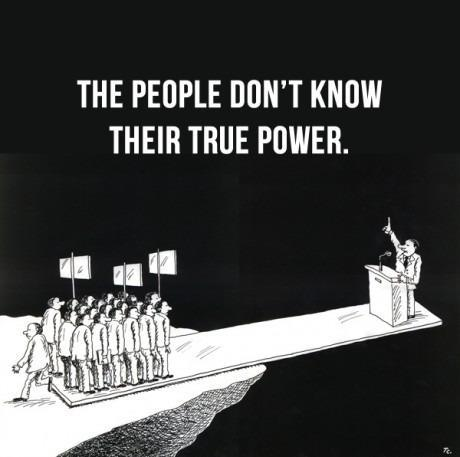 The People Don't Know Their True Power – Underground Network