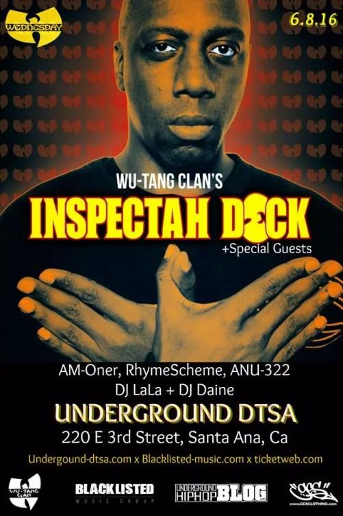 Inspectah Deck - Santa Ana