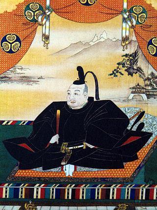 Tokugawa Ieyasu, fundador y primer shogun del  shogunato Tokugawa.