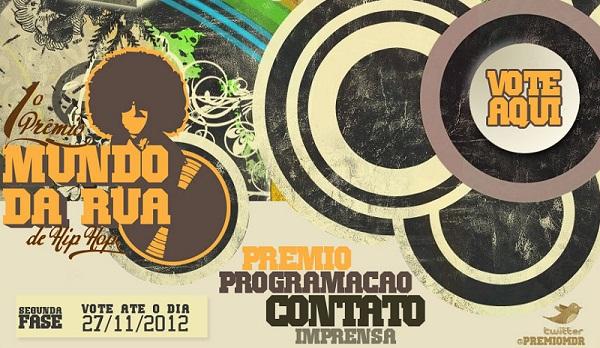 Prêmio Mundo da Rua de Hip Hop (2ª fase)