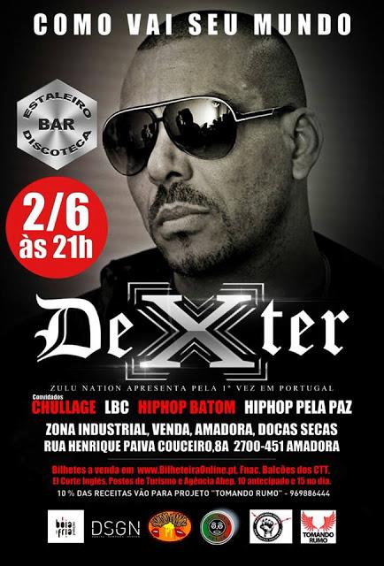 Dexter, Chullage, LBC & Hip Hop Batom - HipHop Pela Paz 2013