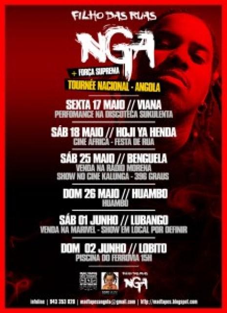 NGA + Força Suprema - Tournée em Angola