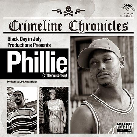 Álbum: Phillie & Lord Jessiah - Crimeline Chronicles