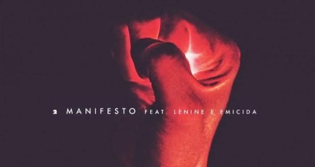 """Emicida e Lenine participam da música """"Manifesto"""" do Fresno"""