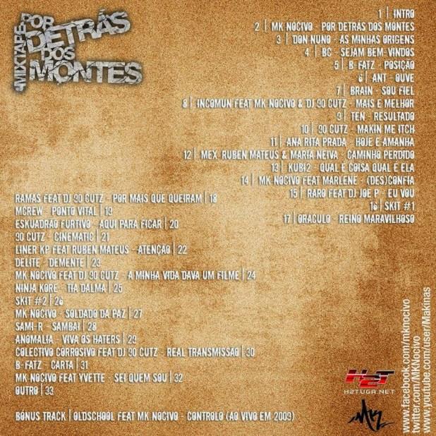 Mixtape: MK Nocivo - Por Detrás Dos Montes