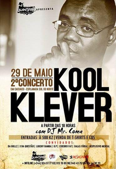 Evento: Kool Klever  2º Concerto 29/05/2014