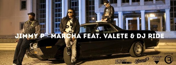 Áudio: Jimmy P ft. Valete & DJ Ride - Marcha