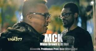 """MCK lança single """"Problemas"""" com Mano Brown (Racionais MC's) & Dj Nel Assassin"""