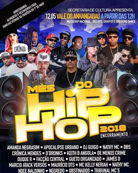 Eventos : Shows de Rap