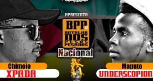 Batalha dos Pesos Pesados: Xpada (Chimoio) VS Underscorpion (Maputo)