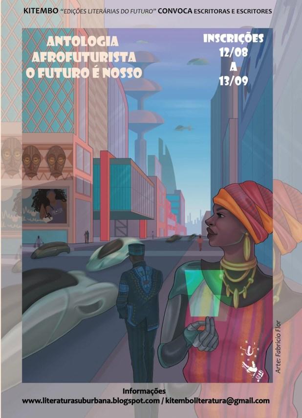 Selo Kitembo abre seleção de escritores e escritoras para Antologia Afrofuturista