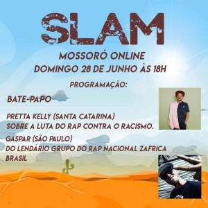 Slam Mossoró: Gaspar do Záfrica Brasil vai participar da live do nosso canal neste domingo (28)