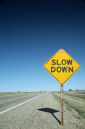 SlowDown Sign