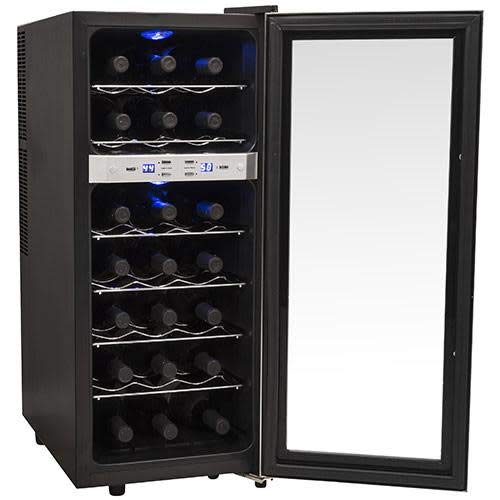EdgeStar TWR215ESS 21 Bottle Freestanding Dual Zone