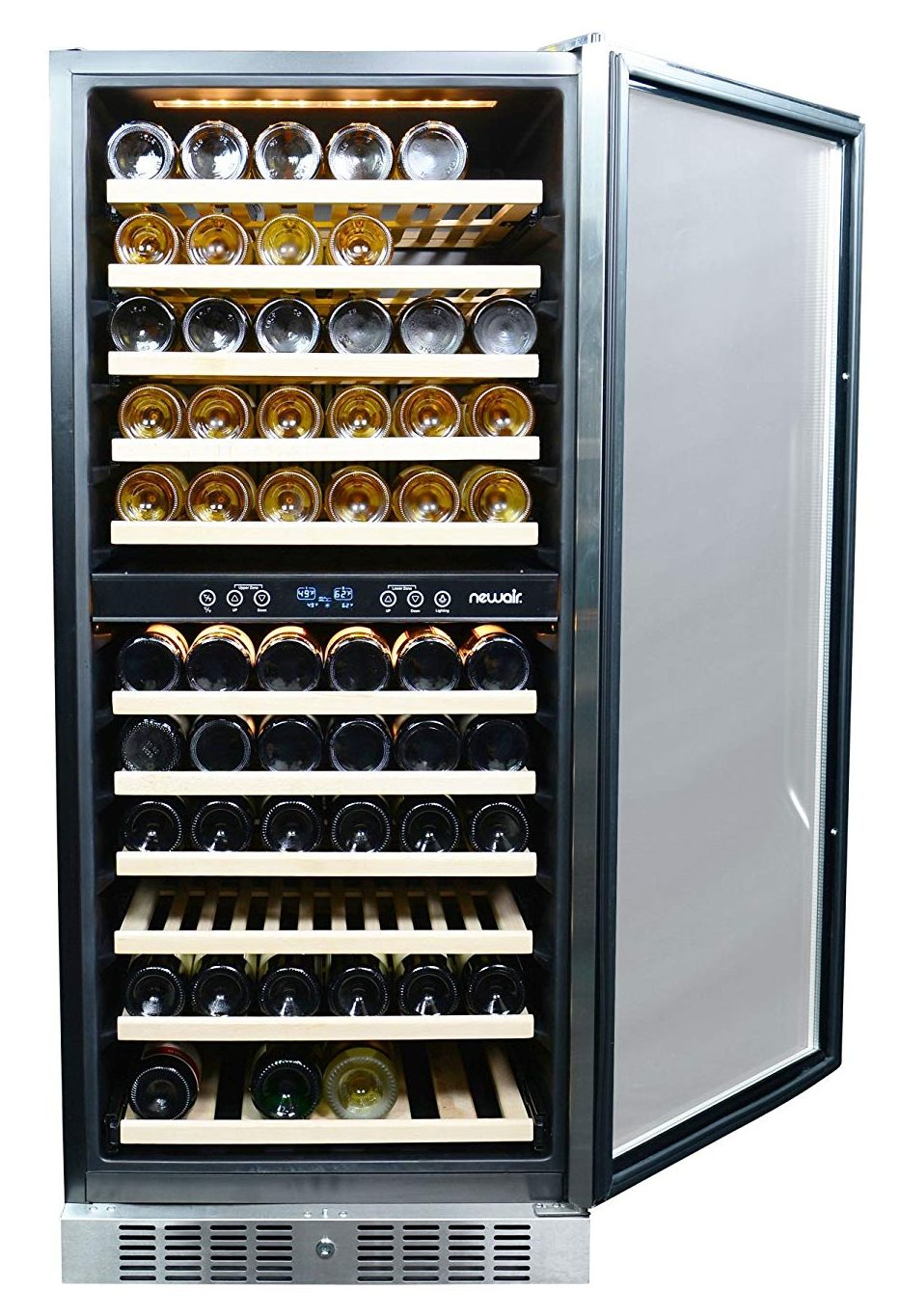 NewAir AWR-1160DB Wine Cooler, 116 Bottle