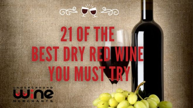 21 Of The Best Dry Red Wine Types You MUST Try