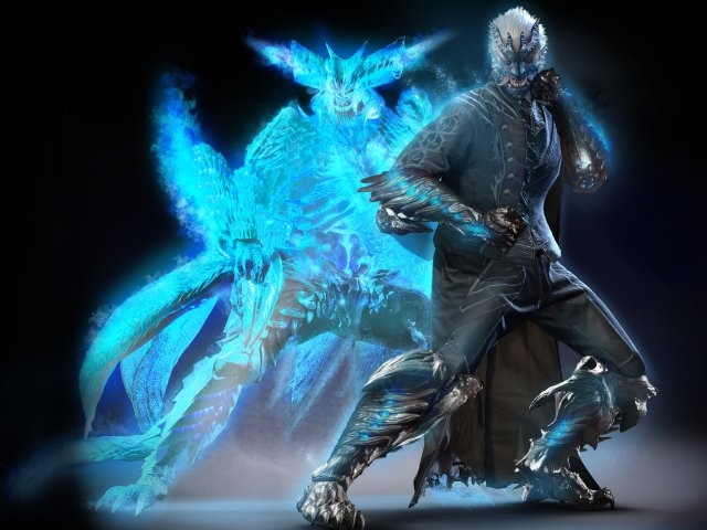 Stylish Devil May Cry 5 Fanart Gives Vergil Some New Weapons