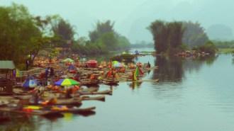 River Boats, Yangshuo
