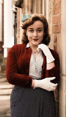 1940s — with Ella Hegenbarth at Blighty Bazaar.