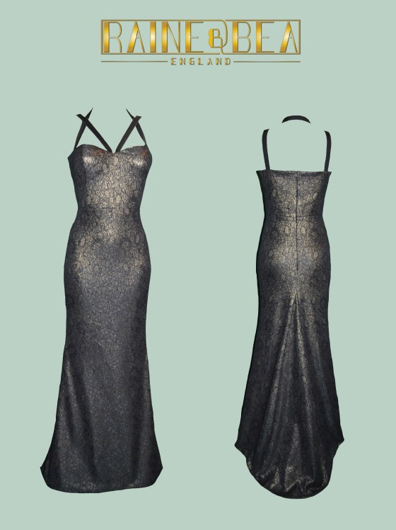 Black & Gold Gown
