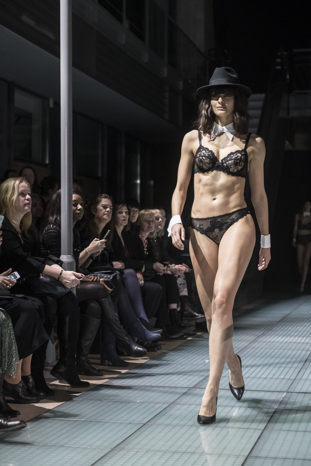 193fe1c5b4 ... Passionata, Lise Charmel, Lou, Louisa Bracq, Maison Lejaby, Simone  Pérèle) and five guest French designers presented their latest collections  on the ...