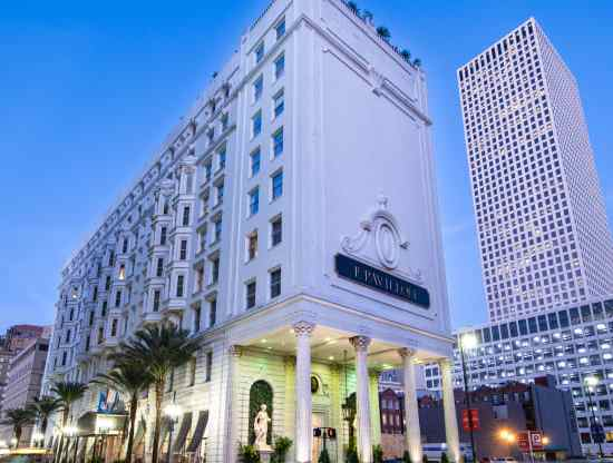 Remington's Le Pavillon Hotel — near the French Quarter in New Orleans, Louisiana — is no longer providing buffets or open receptions. | Courtesy of Remington Hotels