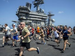 Dodging virus, Navy ships break record for staying at sea – 1