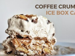 This Heavenly Coffee Crumble Ice Cream Cake Is So Easy To Make!