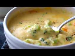 Basic + Awesome Broccoli Cheese Soup