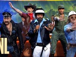The Village People have a song for Donald Trump on 'SNL' Weekend Update