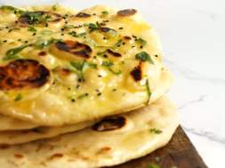 Naan recipe – chewy & fluffy!