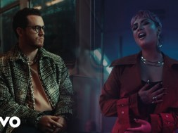 Sam Fischer, Demi Lovato Turn Emotional on 'What Other People Say' music video